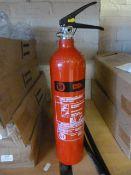 *MC2A 2kg CO2 Fire Extinguisher