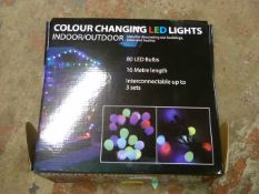 *LED Colour Changing Light