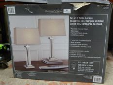 *Bridgeport Designs Table Lamp 2pk