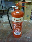 *FPF6 6L AFFF Foam Fire Extinguisher