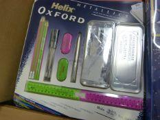 *Oxford Helix Metallic Drawing Set with Matching B