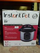 *Instant Pot Duo SV Multicooker