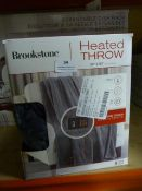 *Brookstone Heated Throw