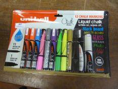 *Uniball Chalk Markers 11pk