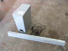 *Philips HTL3325/10 3.1 Soundbar and Subwoofer