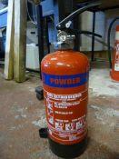 *MP4 4kg Powder Fire Extinguisher