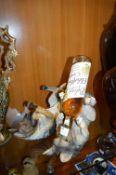 Pair of Alsatian Wine Bottle Holders