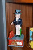 Uncle Sam Cast Iron Money Box