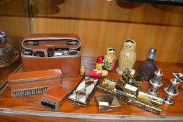 Gentleman's Brush Sets, Russian Dolls, Blotters, e