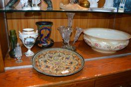 Decorative Pottery and Glassware