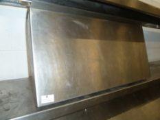 * S/S shelf 620w x 300d