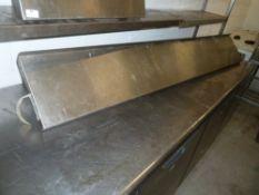 * S/S shelf 2000w x 300d