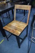 *Industrial Style Side Chair