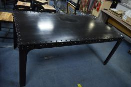 *Industrial Style Black Rivet Table