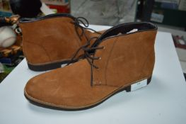 Size: 7 Tan Suede Ankle Boots