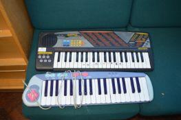 *GT720 System 5+ Bontempi Keyboard and a Levac Keyboard