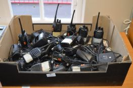 *Large Quantity of eSynic Handheld Radios with Chargers