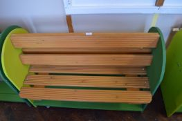 *Double Sided Painted Children's Bench