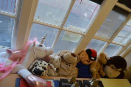 *Quantity of Soft Toys Including Dressing Up Unicorn, Gorilla, Dogs and Bears
