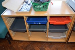 *Small Storage Unit with Trays