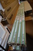 *Eight MCFE 100W/35 Fluorescent Tubes