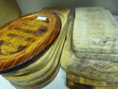 *11 Wooden Chopping and Serving Boards