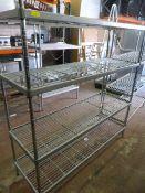 *Shelf Unit ~160x150x51cm