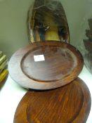 *8 Wooden Serving Platters