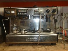 * Casadio by Gruppo Cimbali espresso coffee machine - 2 group