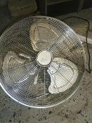 * S/S floor fan