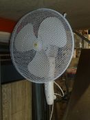 * Pedestal fan