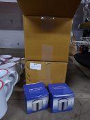 * 40 x boxed S/S milk jugs