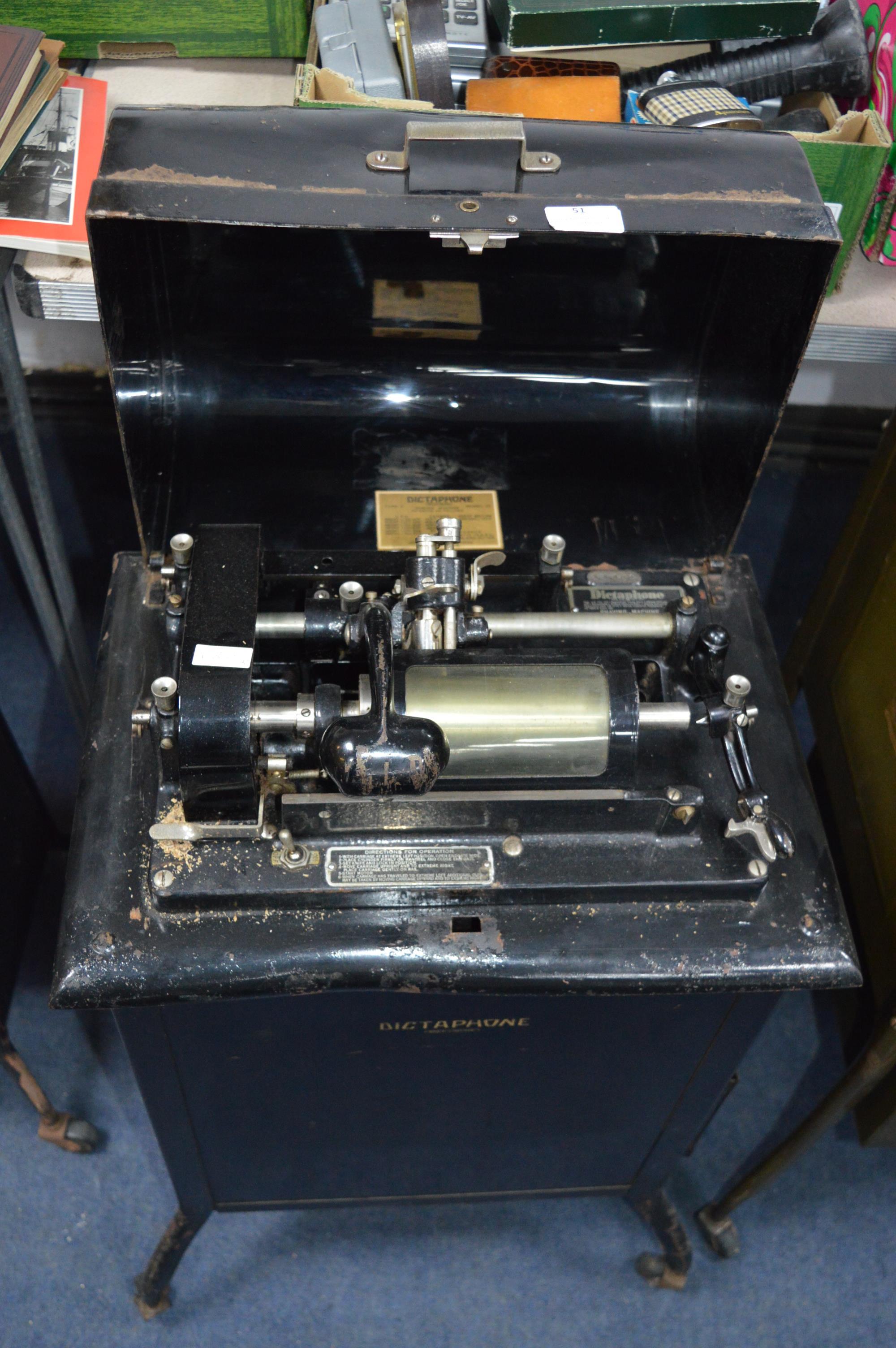 Dictaphone Shaving Machine on Wheels