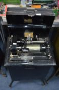 Dictaphone Shaving Machine on Wheels