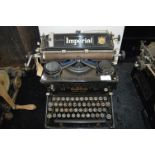 Imperial No.55 Quiet Typewriter made in England