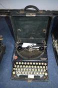 Remington Portable Typewriter in Case