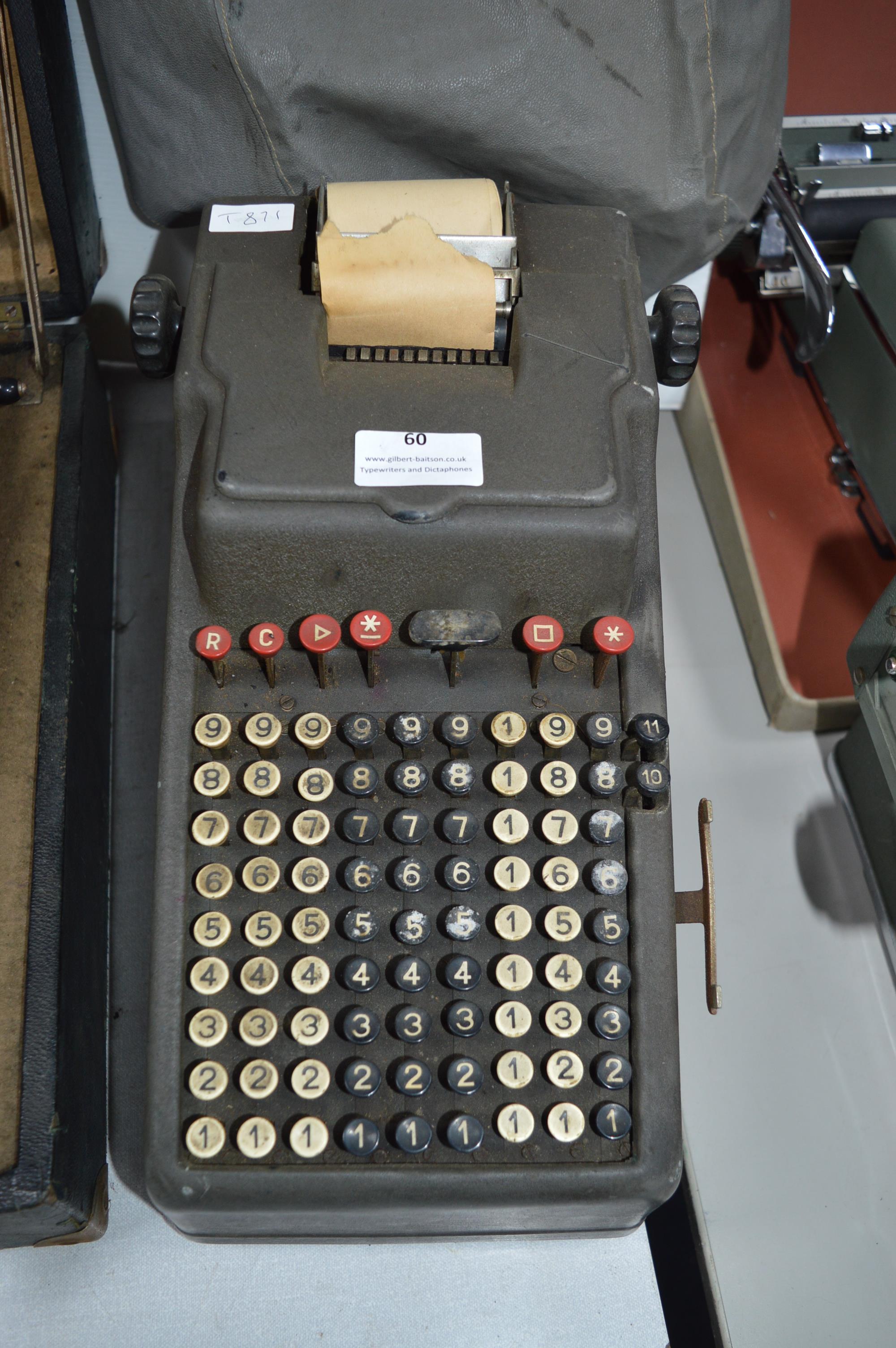 Ado Calculator by Bulmers ltd, London