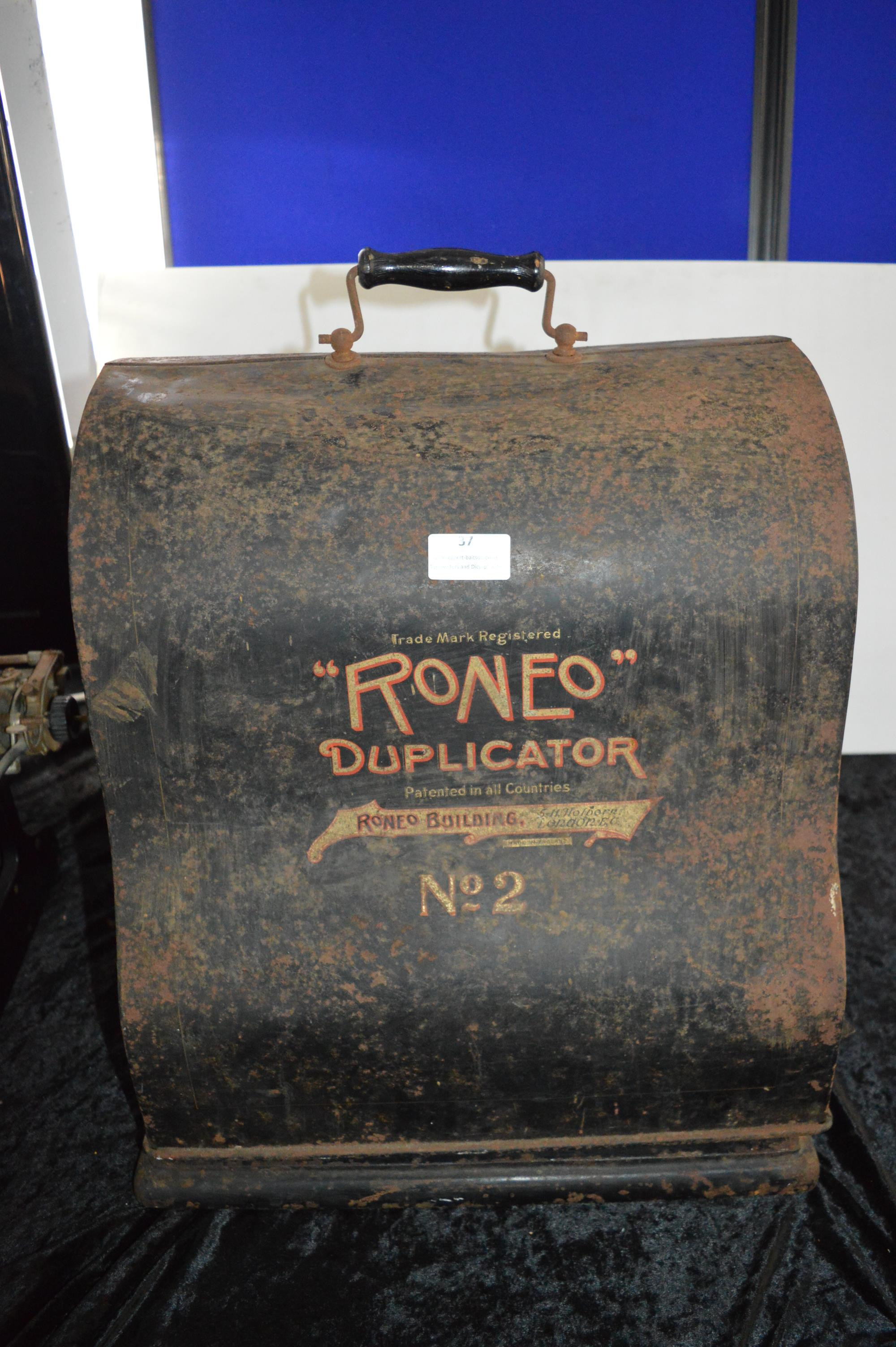 Romeo No.02 Duplicator In Original Carrying Case - London - Image 2 of 2