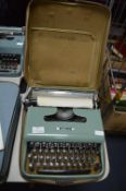 Olivetti Lettera 22 Typewriter with Original Carry Case