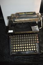 Smith Premier No.10 Typewriter with Extended Upper and Lower Case Keyboard - Syracuse, New York, USA