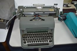 Olympia Deluxe Manual Typewriter