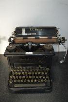 L.C. Smith No.11 Typewriter by Smith & Corona