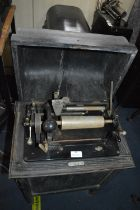 Dictaphone Shaving Machine in Wooden Cabinet Model: 33792