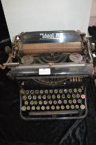 Ideal B Typewriter by A-G Vorm.Seidel & Naumann Dresden