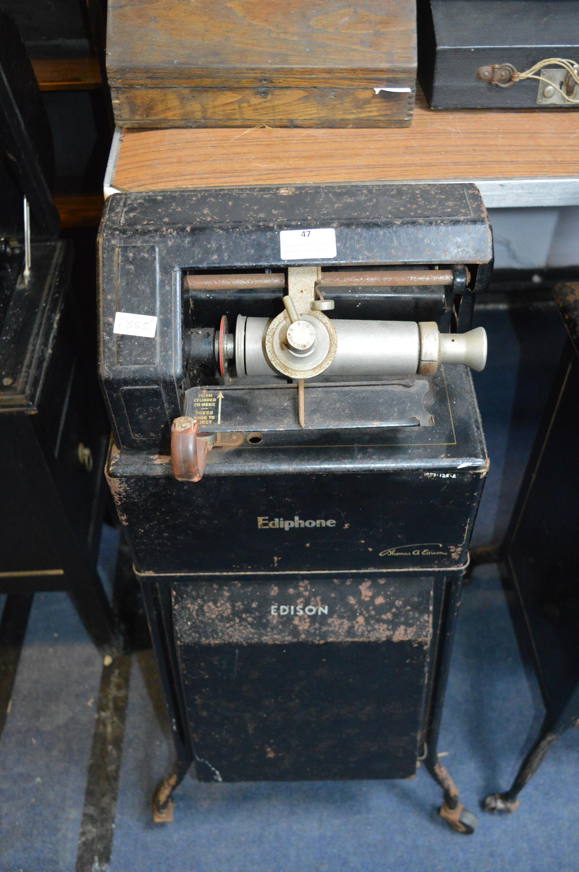 Ediphone Dictation and Stenographer Machine