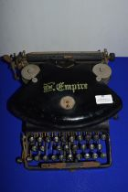 The Empire Typewriter (Some Wear)