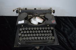 Royal P Typewriter distributed by Moore of Scarborough