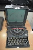 "Imperial ""Good Companion"" Portable Typewriter in Case"