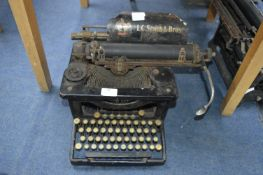 L.C. Smith & Bros Typewriter