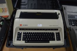 Olympia Report Electronic Typewriter with Carry Case